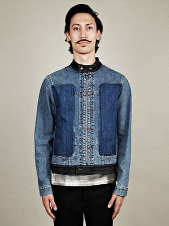 Maison Martin Margiela 10 - Men's Patch Denim Jacket