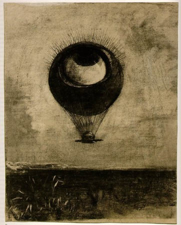 OdilonRedon - Eye Balloon
