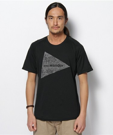 and wander - dry jersey short sleeve T (M)