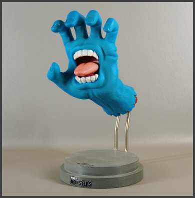 MADE BY MONSTERS - Jim Phillips screaming hand figure