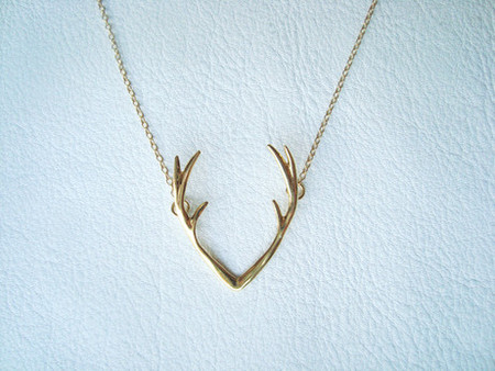 Fukomaybe - Transformation - Deer /Necklace