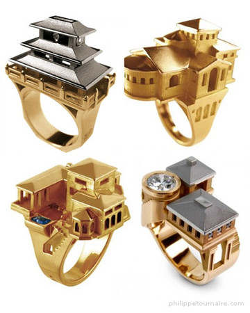 Philippe Tournaire - Architecture Rings