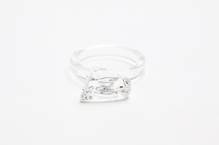 HARIO - cullet Glass ring
