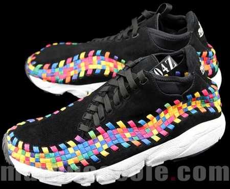 NIKE - Footscape Woven Chukka Motion - Black/Rainbow