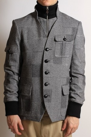 Vivienne Westwood - Wool Safari Jacket in Grey