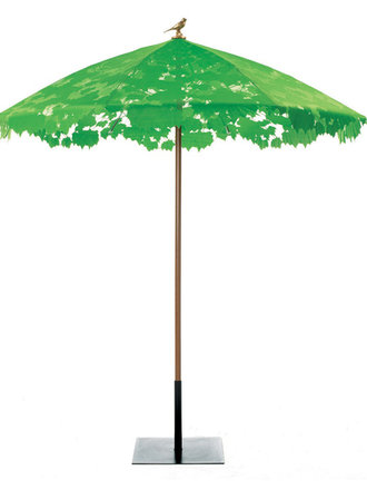 Chris Kabel - SHADY LACE GREEN PARASOL & BASE