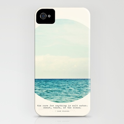 Society6 - Salt Water Cure iPhone Case
