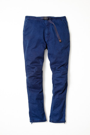 SOPHNET. × nonnative - CLIMBER EASY PANTS - C/P TWILL STRETCH by GRAMICCI OVERDYED with RYUKYU INDIGO