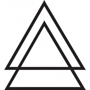 dcer - TRIANGLE TATTOO