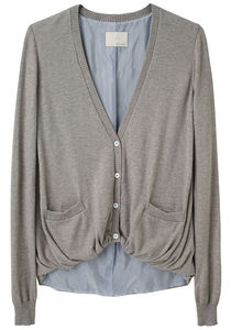Boy by Band of Outsiders  - Gathered Hem Cardigan