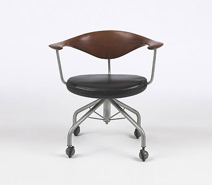 Hans Wegner - Wright-Swivel chair, model #50