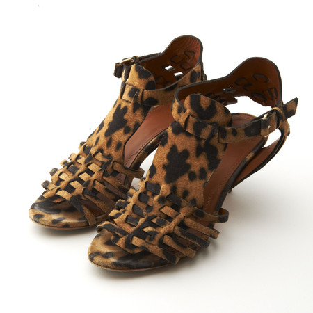 Givenchy - Leopard Pattern Sandals