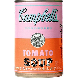 Campbell's - Andy Warhol Limited Edition Tomato Soup Cans