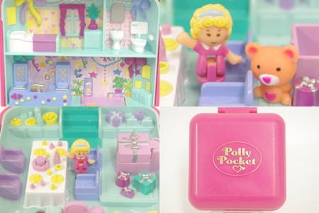 Blue bird - POLLY POCKET  Partytime Surprise バースデーパーティー