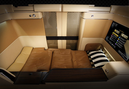 Etihad Airlines - First Class Suite, Let's fly