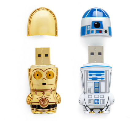 C3PO And R2-D2 USB Drives