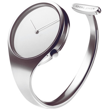 GEORG JENSEN - bangle steel watch