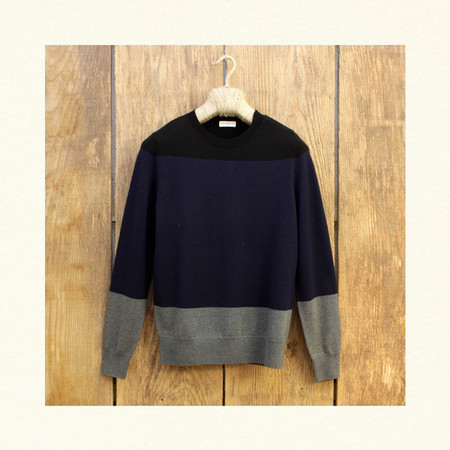DRIES VAN NOTEN - MIDNIGHT KNIT NAVY