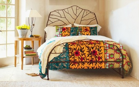 VivaTerra - Tree of Life Bed, Ghanaian Duvet Set