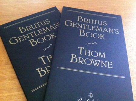 THOM BROWNE - Brutus Gentleman's Book directed by Thom Browne