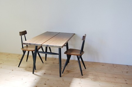 Ilmari Tapiovaara - Pirkka - Table & Chair Set