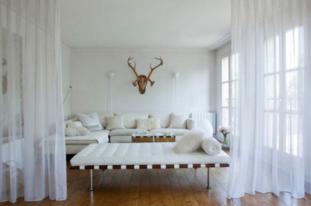 bright white room