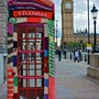 Big Ben and Red Telephone Box