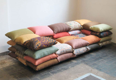 50-Cushion Couch