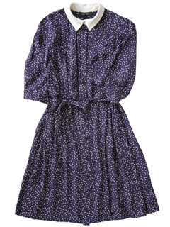 karen walker - Shirt Dress (navy)