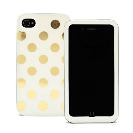 kate spade NEW YORK - IPHONE4 CASE LE PAVILLION DOT