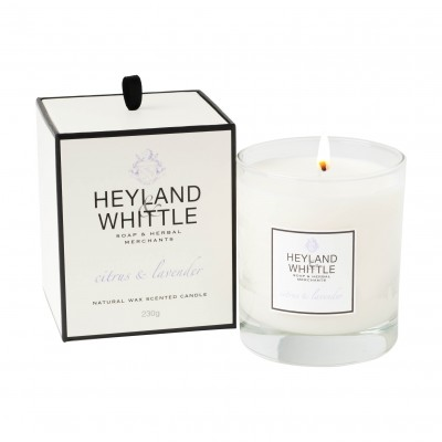 HEYLAND & WHITTLE - Citrus & Lavender Candle