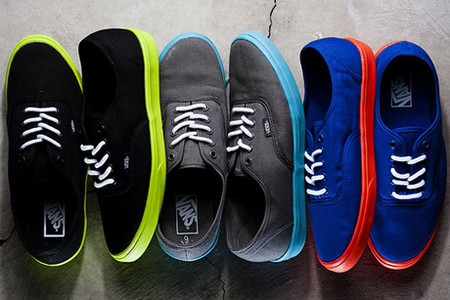 VANS - Authentic Lite   Spring/Summer 2012