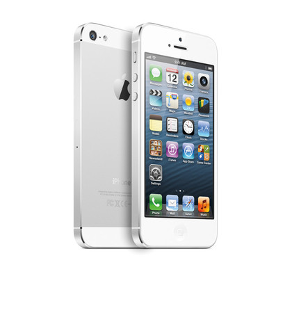 Apple - iPhone 5 16GB  (White & Silver)