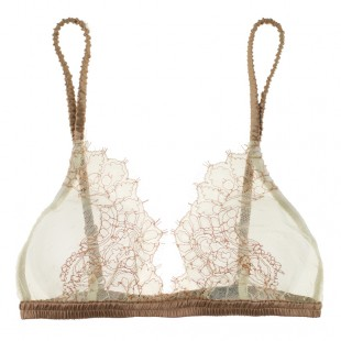 La Fee Verte - Silk and Lace bralette