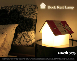 Suck UK - Book Rest Lamp
