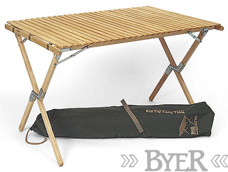 Byer of Maine - Roll Top Camp Table