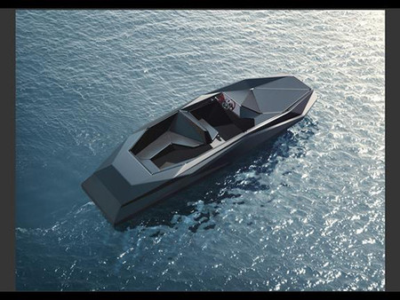Zaha Hadid's Z Boat for Kenny Schachter