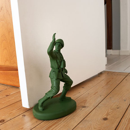 suck uk - soldier doorstop
