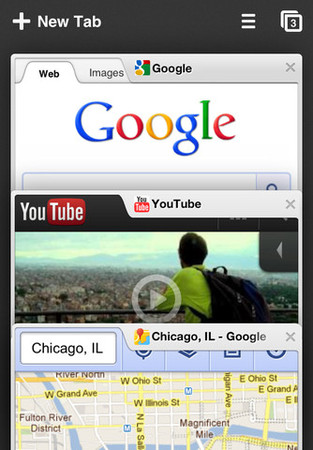 Google - Chrome  for iPhone