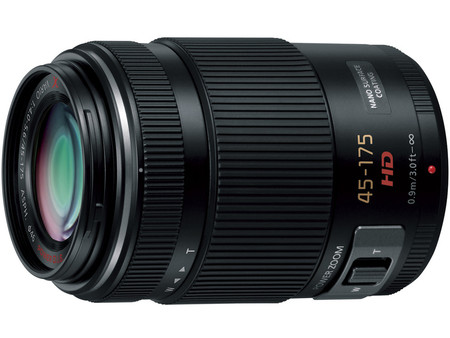 Panasonic - LUMIX G X VARIO PZ 45-175mm/F4.0-5.6 ASPH./ POWER O.I.S. H-PS45175-K [ブラック] の製品画像
