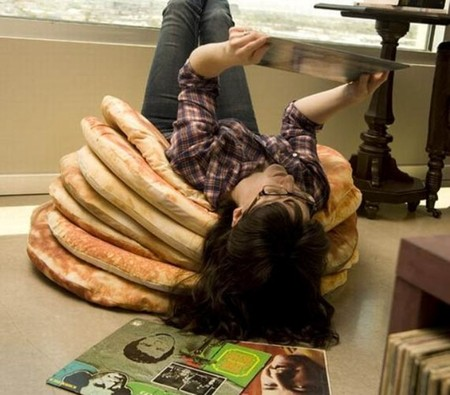 unica - Pancake floor pillows by Todd von Bastiaans