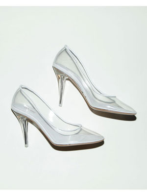 MARC JACOBS - Modern Cinderella Transparent Pump