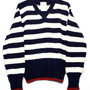 BLACK FLEECE BY Brooks Brothers - Border Knit Sweater