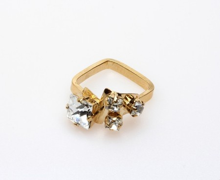 Sabrina Dehoff - Rounded Square Ring