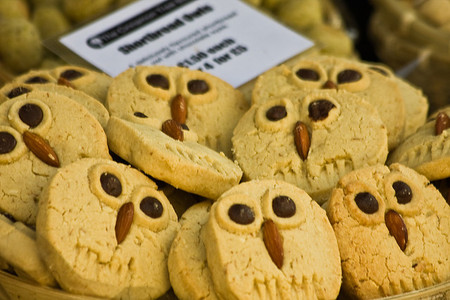 LONDON COVENT GARDEN - Owl Biscuits