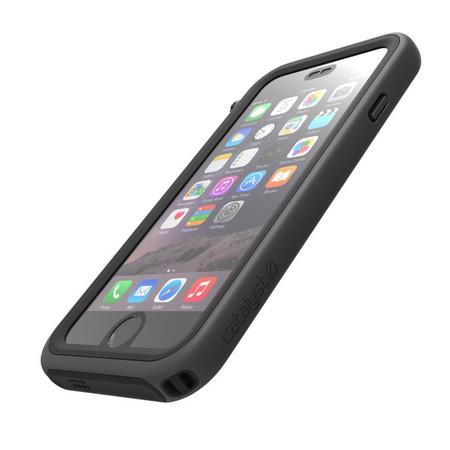 Waterproof iPhone Case for iPhone 6 - Black and Space Gray