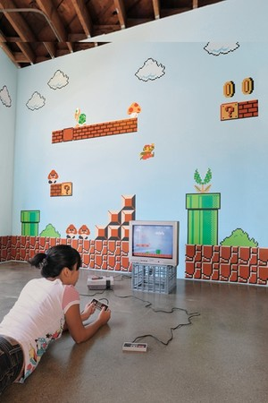 BLIK - Super mario bros wall paper