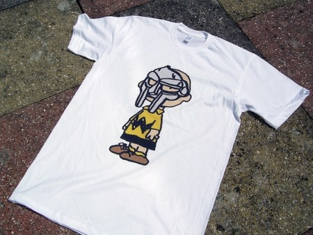 """MF DOOM"" X Charlie Brown T-Shirt"