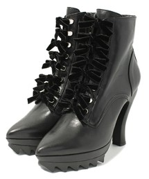 G.V.G.V.(ジーヴィジーヴィ)のCAT FOOT LACE UP BOOTS(ブーツ)