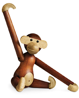 Kay Bojesen - Teak and Limba Wood Monkey
